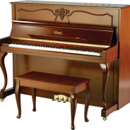 EUP-123CL | French Studio Upright